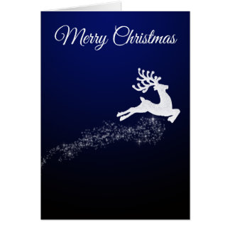 Dazzling Reindeer Christmas card