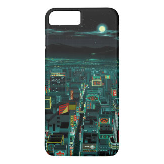 dazzling town iphone cover