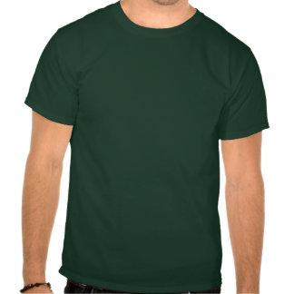 DB07 - Distressed Street Sign Logo - Forest Green  Tshirts