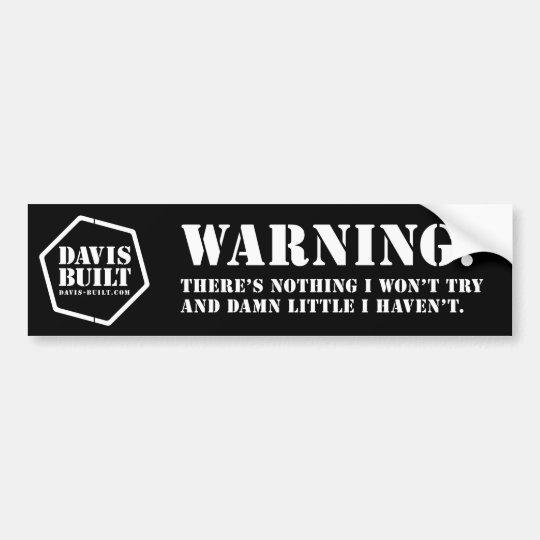 db_bs_warntry_rev bumper sticker