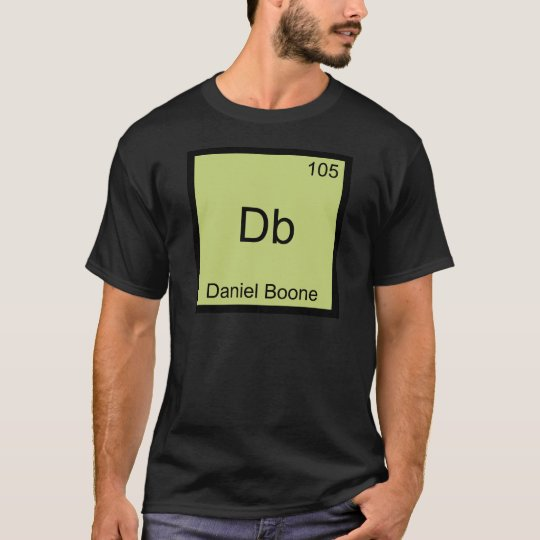 Db - Daniel Boone Funny Chemistry Element Symbol