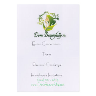 """DB presents """"How WE DO Travel"""" Profile Cards Business Card Templates"""