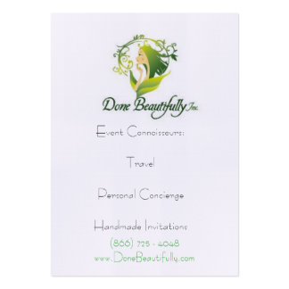 """DB presents """"How WE DO Travel"""" Profile Cards Business Cards"""