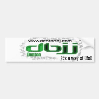DBJJ- GREEN It s a way of life Bumper Stickers