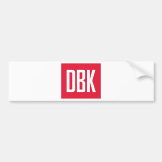 DBK Swag Bumper Sticker