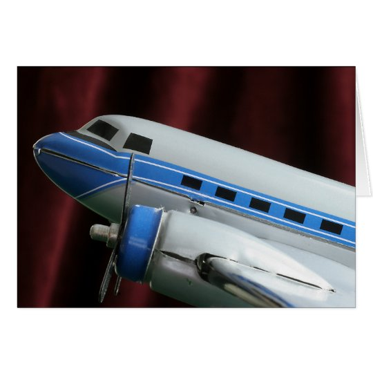 DC 3 Aeroplane Greeting Card