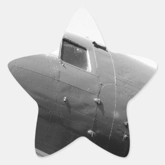 DC-3 Douglas Dakota Star Sticker