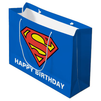 DC Comics | Superman | Classic Logo Large Gift Bag