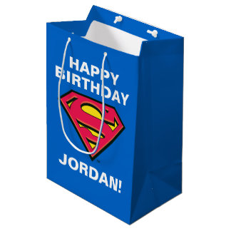 DC Comics | Superman | Classic Logo Medium Gift Bag