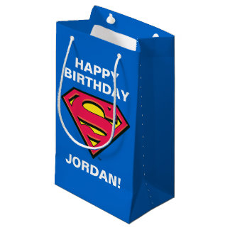 DC Comics | Superman | Classic Logo Small Gift Bag