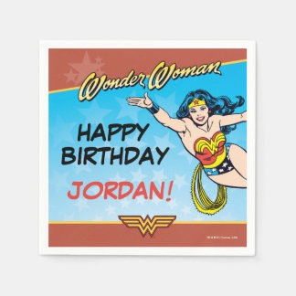 DC Comics | Wonder Woman Birthday Paper Napkins
