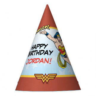 DC Comics | Wonder Woman Birthday Party Hat