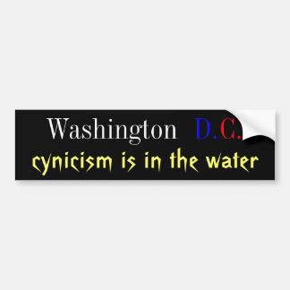 DC cynicism Bumper Sticker