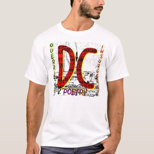 DC GUERRILLA POETS LIGHTNING ON THE CAPITOL T-Shirt