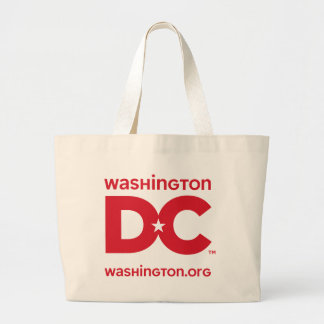 DC logo Large Tote Bag