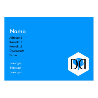 DD Great Dane Collection Pack Of Chubby Business Cards