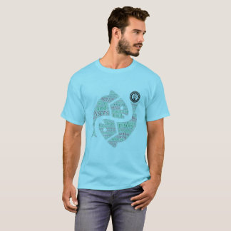 DD Styles Pisces Men's Basic T-Shirt