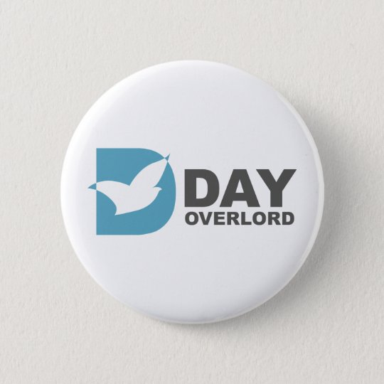 DDay-Overlord Internet 6 Cm Round Badge