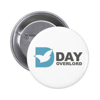 DDay-Overlord Internet 6 Cm Round Badge