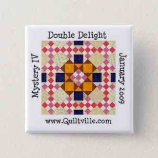 DDbutton 15 Cm Square Badge