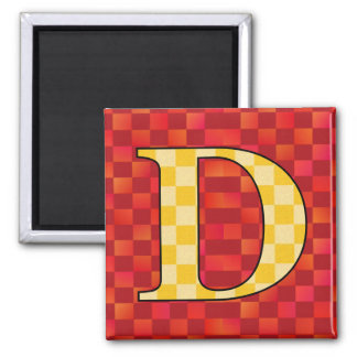 DDD REFRIGERATOR MAGNET