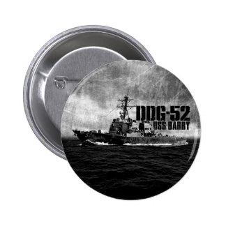 DDG-52 Barry Round Button