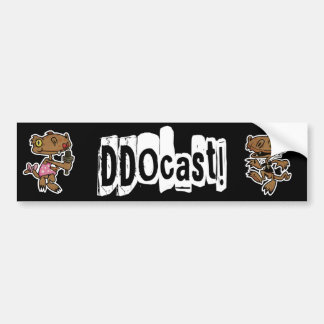 DDOcast Bumper Sticker