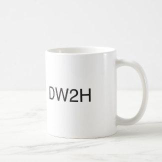 ddont work too hard.ai basic white mug