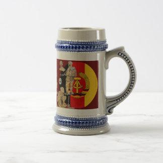 DDR east german border patrol Mugs