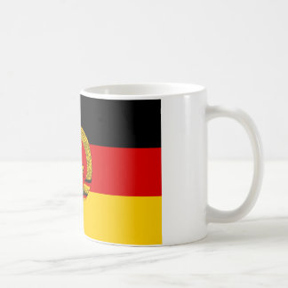 DDR German Democratic Republic Flag Classic White Coffee Mug