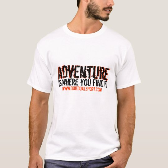 DDS Adventure 1: Front & Back T-Shirt