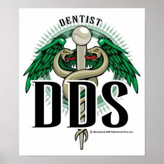 DDS Caduceus Poster