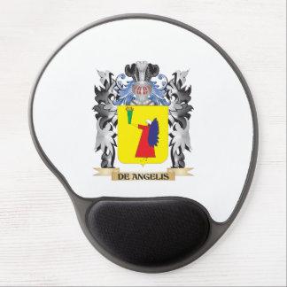 De-Angelis Coat of Arms - Family Crest Gel Mouse Pad