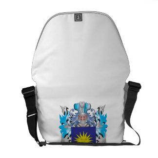 De-Bel Coat of Arms - Family Crest Courier Bags
