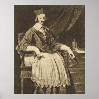 De Champagne, Cardinal de Richelieu Poster