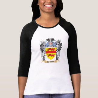 De-Cock Coat of Arms - Family Crest Tee Shirts