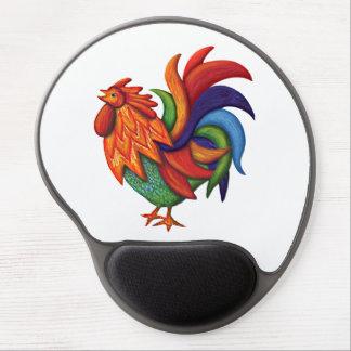 De Colores Rooster Gallo Gel Mousepad Gel Mouse Mat