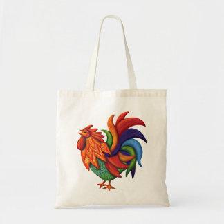 De Colores Rooster Gallo Tote Bag