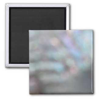 De-focussed Shell Picture. Square Magnet