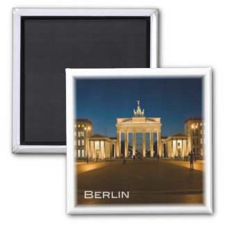 DE * Germany - Berlin Brandenburger Tor Square Magnet