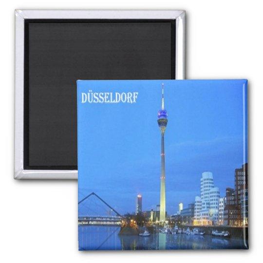 DE - Germany - Düsseldorf - Views Magnet