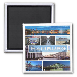 DE * Germany - Hamburg Magnet