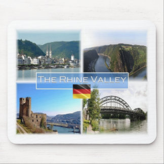 DE Germany - The Rhine Valley - Mouse Mat