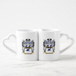 De-Giorgis Coat of Arms - Family Crest Coffee Mug Set