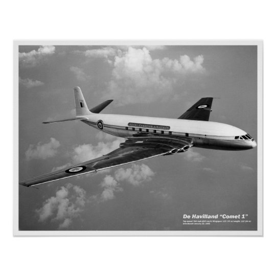 De Havilland Comet 1 Poster