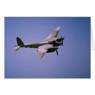 "De Havilland DH-98 ""Mosquito"" T-3, in flight at Bo Card"