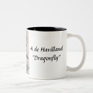 "de Havilland ""Dragonfly"" Souvenir Mug"