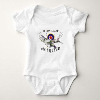 de havilland mosquito baby bodysuit