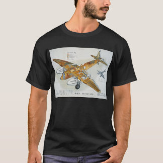 de Havilland Mosquito Main Structure T-Shirt