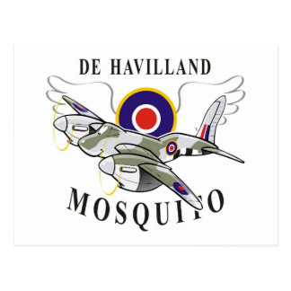 de havilland mosquito postcard